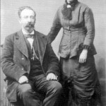 Samuel and Helena Butler (picture courtesy of Ina Smith)