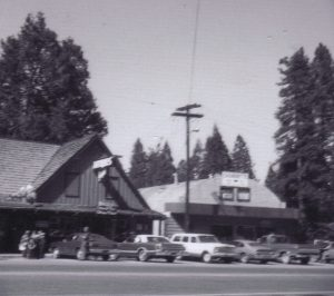 B&W Garage, Fifty Grand Restaurant, Pollock Pines Post Office (photo courtesy of Fifty Grand Restaurant)